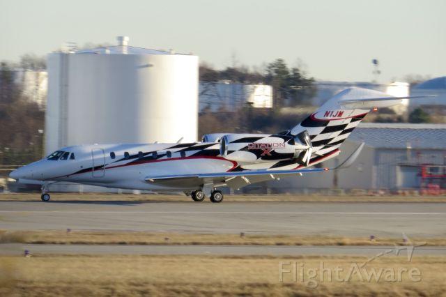 Cessna Citation X (N1JM) - Jamie McMurray's Cessna Citation 750 1/3/14