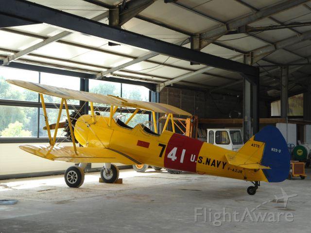 F-AZJR — - N2S-3 type, J-B Salis Aviation at La Ferté Allais, near Paris, France