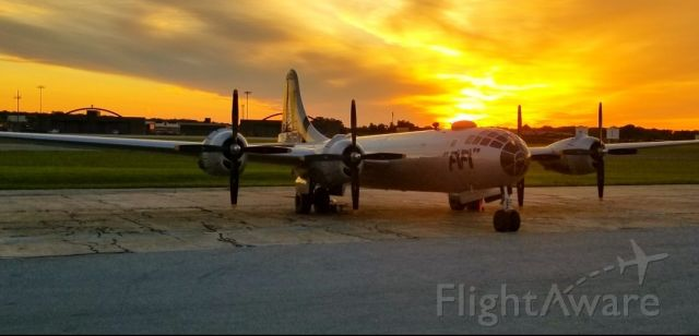 — — - Fifi at Sunrise at Martin State Airport.