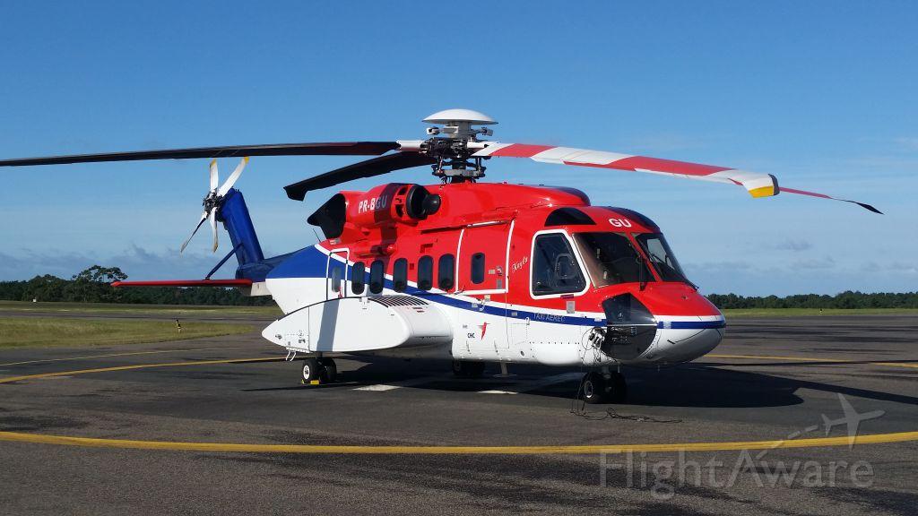 Sikorsky Helibus (PR-BGU) - Aeropuerto Laguna del Sauce. MALDONADO. URUGUAY