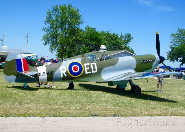 SUPERMARINE Spitfire (N1940K) - At Oshkosh. 2003 Jurca MJ-100 Spitfire