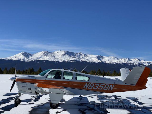 Beechcraft 35 Bonanza (N8358N) - Leadville, CO