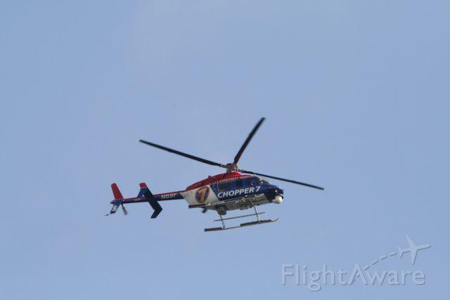 Beechcraft Beechjet (N69F) - Chopper 7 at Seafair hydro races on Lake Washington, 8-3-2008.
