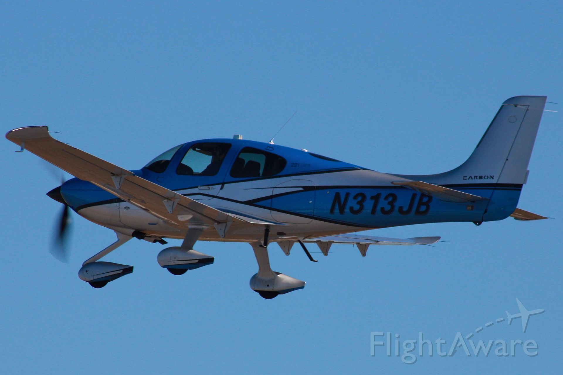 Cirrus SR22 Turbo (N313JB) - Photo taken on 11/18/2020.