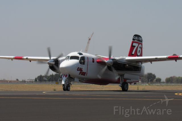 MARSH Turbo Tracker (N436DF) - Porterville's T76 taxiing to the base.