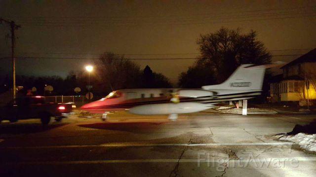Learjet 24 (N32DD) - Donated to Lake Area Tech school