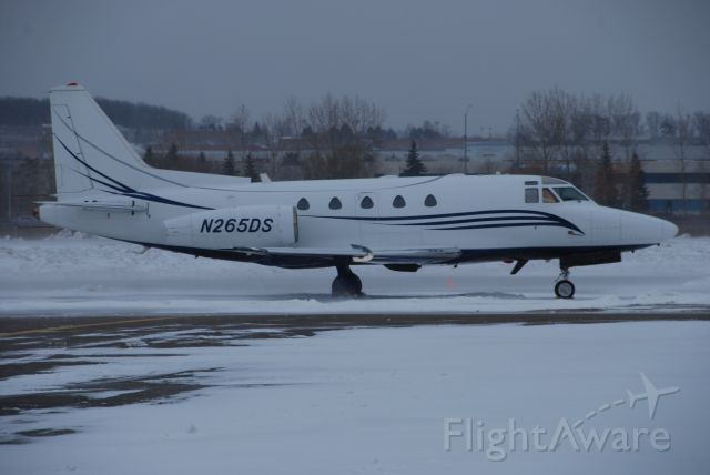 North American Sabreliner (N265DS) - Very rare visitor to Toronto