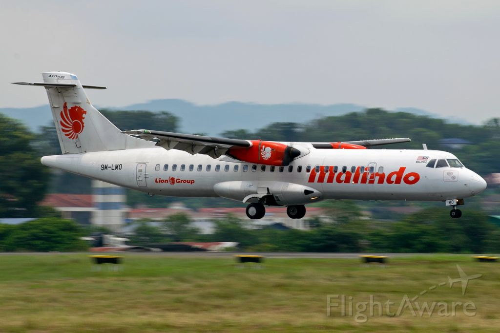 Aerospatiale ATR-72-600 (9M-LMO)