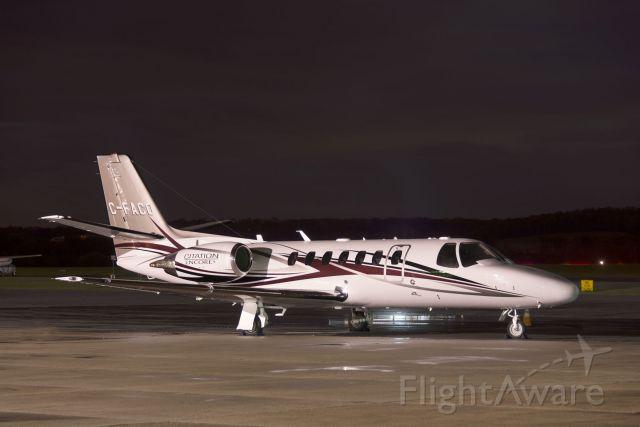Cessna Citation V (C-FACO) - C-FACO  Cessna  C560  Citation  KFDK  20130424