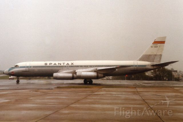 EC-BZP — - Parked on the ponderosa in May-84.<br /><br />With Spantax from Apr-72 to Sep-84. Broken up at LEPA.