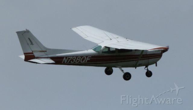 Cessna Skyhawk (N738QF) - Grand Isle, VTbr /br /Flew around my property three times, very low. Why?