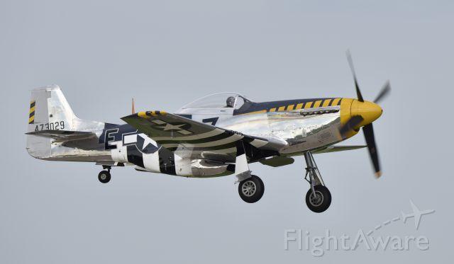 North American P-51 Mustang (N51JB) - Airventure 2017