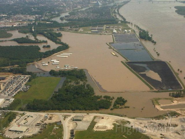 — — - Flooded Dewitt Spain Airport May 5, 2011