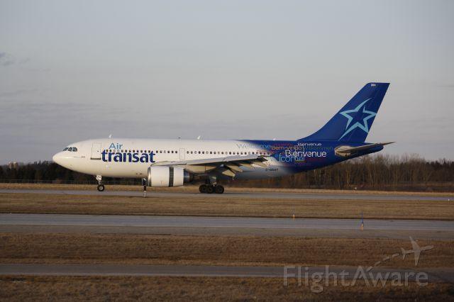 Airbus A310 (C-GSAT) - Landing London Canada (CYXU) from PUJ Punta Cana Dominican Republic April 3rd 2019