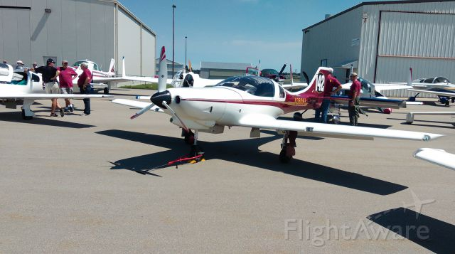 PAI Lancair 320 (N360KL) - Airventure Cup Race 2016.  intermediate stop at KOWA for WX at Finish Line