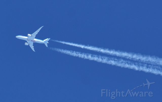 Boeing 787-8 (PH-TFM) - 39,000 FT AMSTERDAM TO CANCUN