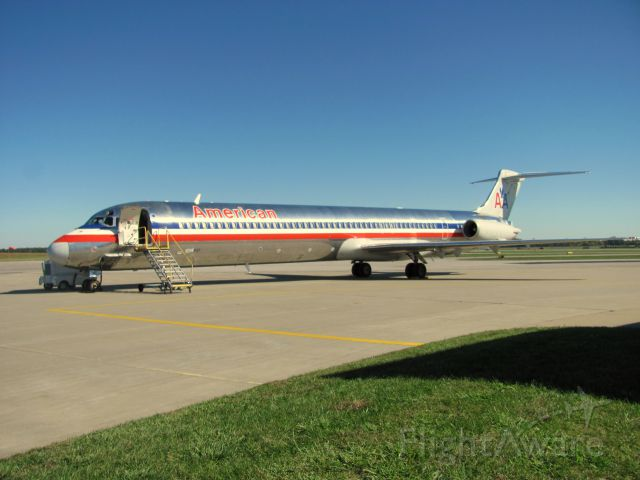 McDonnell Douglas MD-82 (N7537A) - SIU/AAL Career Day