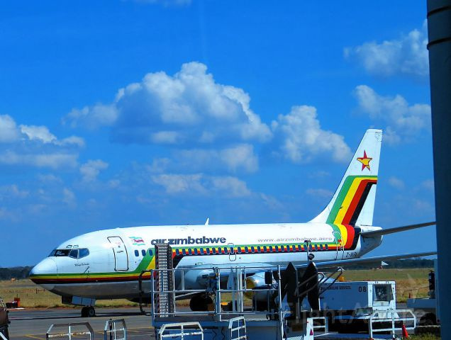 Boeing 737-200 (Z-WPA) - At Victoria Falls International