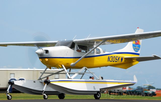 Cessna Skylane (N305KW) - 2013 Sun n Fun Parade of Planes