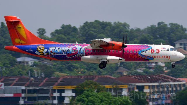 ATR ATR-72 (9M-FYL) - Fantasia Aquapark livery