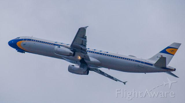 Airbus A321 (D-ALEV) - lufthansa retro departing TLV