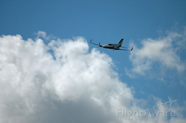 Cessna Chancellor (N514LP) - Fly By
