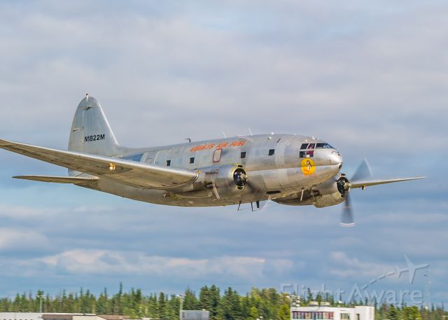"""CURTISS Commando (N1822M) - This C46 Commando, known affectionately as Salmon Ella, is owned and operated by Everts Air Fuel. She is used as a fueling airplane for remote villages in the Alaskan bush. ©Bo Ryan Photography 