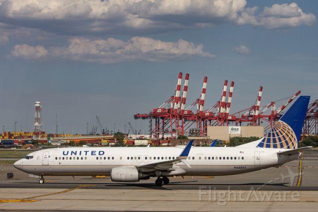Boeing 737-700 (N68802) - B737-924ER(N68802) Taxiing