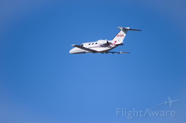 Cessna Citation Mustang (N810BL) - Off to Orange County