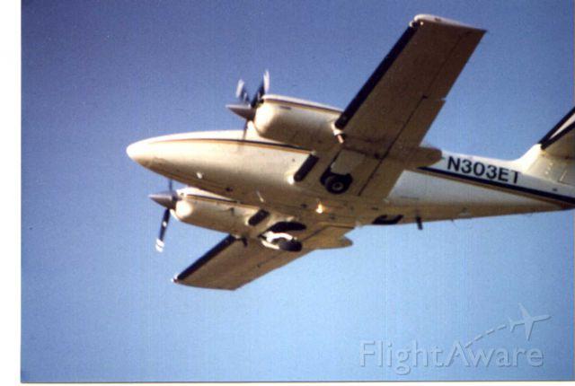 N303ET — - Year 2000 survey mission California