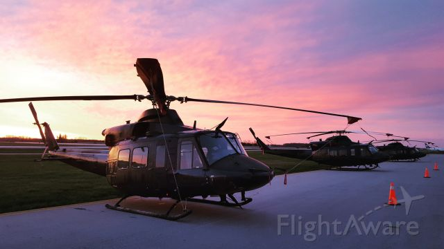 Bell 412 — - CH-146 Griffon sunrise