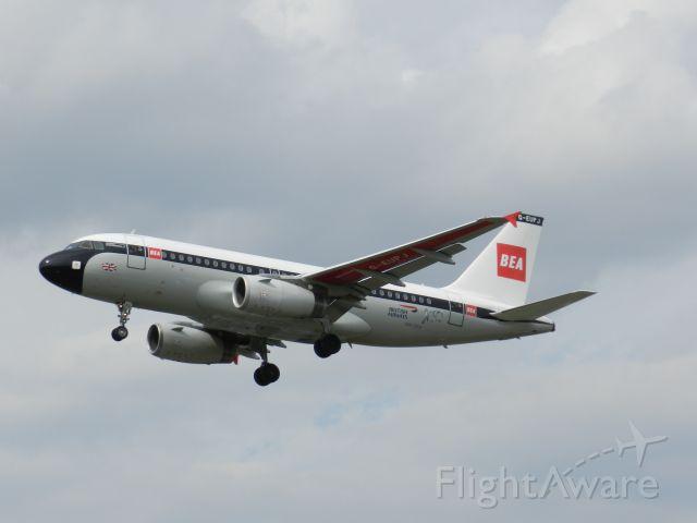 Airbus A319 (G-EUPJ) - Taken July 2019