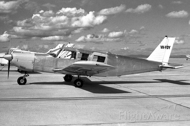 Piper Saratoga (VH-FDY) - PIPER PA-32-260 CHEROKEE - REG VH-FDY (CN 32-258) - ESSENDON MELBOURNE VIC. AUSTRALIA - YMEN (7/6/1972)