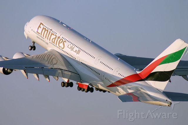 Airbus A380-800 (UAE201)