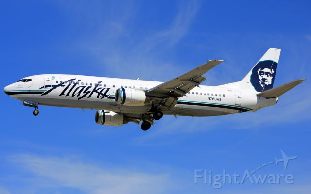 BOEING 737-400 (N760AS)