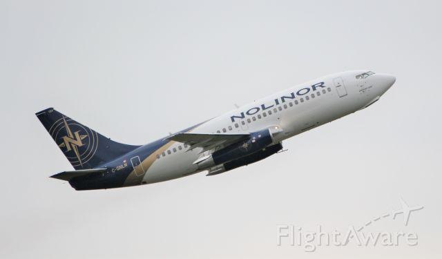Boeing 737-200 (C-GNLN) - nolinor aviation b737-2b6c(a) c-gnln dep shannon for keflavik 20/3/20.