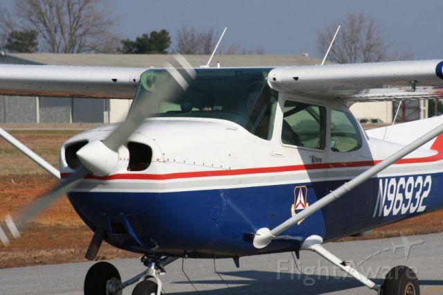 Cessna Skyhawk (N96932) - Civil Air Patrol plane at Gainesville Georgia in 2012