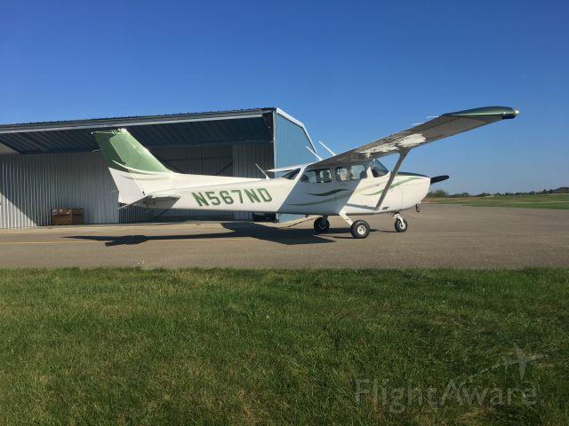 Cessna Skyhawk (N567ND) - Taken by Jayson Chappell.