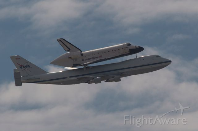 N905NA — - Boeing Shuttle Carrier (N905NA), from the University of Arizona in Tucson.