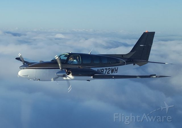 Beechcraft Baron (58) (N872WH) - Enroute to Terrell, TX