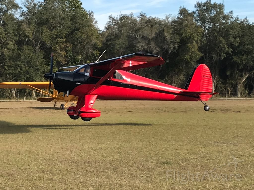 TEMCO Silvaire (N28412) - Pretty Luscombe 8A at the breakfast fly-in 1/19/19