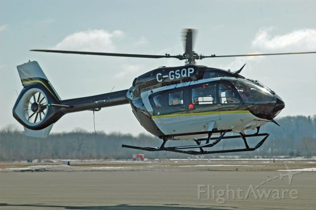 C-GSQP — - 2016 Airbus H145 (C-GSQP/20091) arriving from an unknown origin on March 9, 2021. This is based off the MBB BK117 D-2.