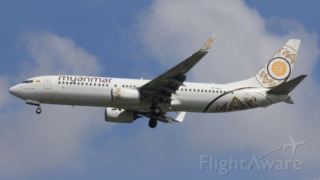 Boeing 737-800 (XY-ALF)