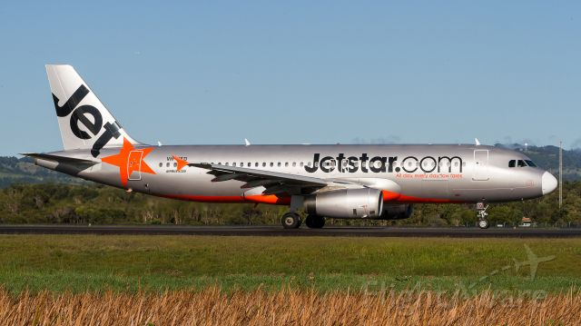 Airbus A320 (VH-VFD) - Taxiing for departure, Gold Coast