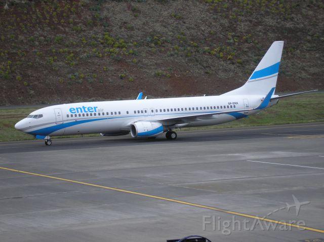 Boeing 737-800 (SP-ENX) - Enter Air B737-8Q8