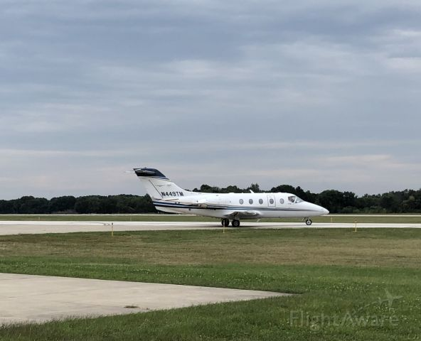 Beechcraft Beechjet (N449TM) - 449TM on a short hop to KSBN on 9-1-19