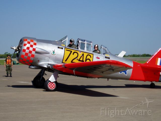 Beechcraft Mentor (N245Z) - Participant in the Texoma 100 Air Race at Grayson County (North Texas Regional Airport).