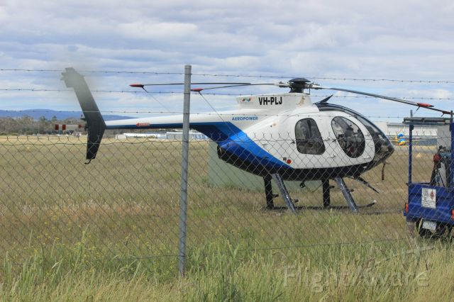 MD Helicopters MD 500 (VH-PLJ) - Grounded at Cambridge Aerodrome