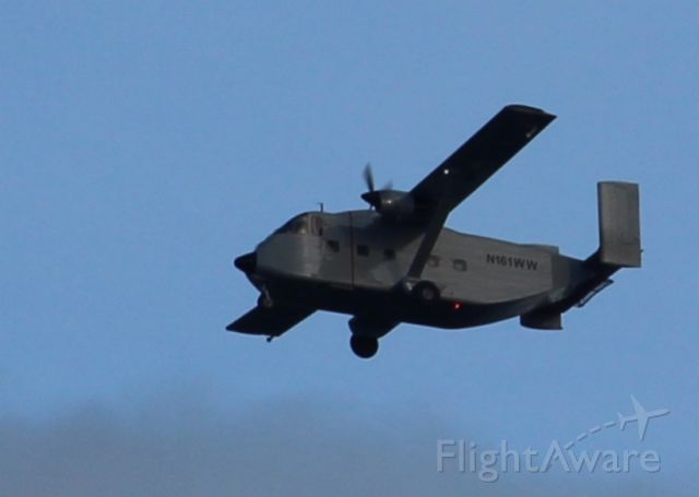 Short Skyvan (N161WW) - Standing at the Donlands Subway Station, Toronto, ON