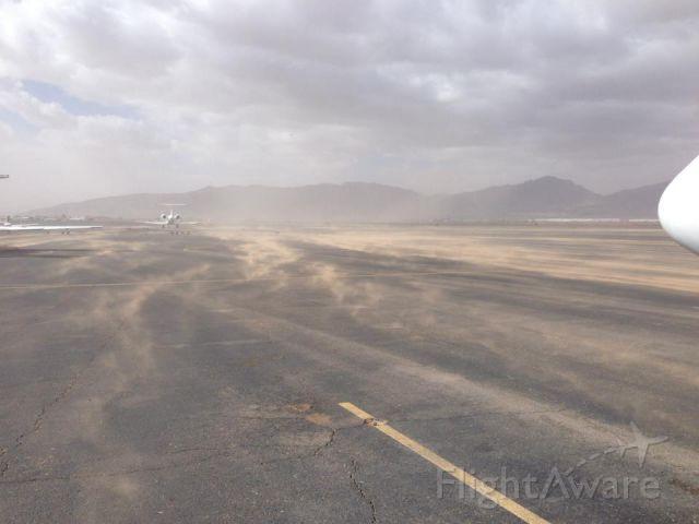 — — - Dust storm